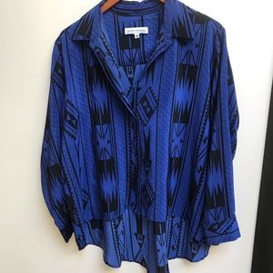 Amanda Uprichard Revolve silk blouse